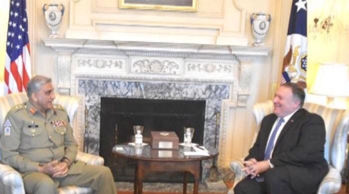 COAS meets Mike Pompeo during US State Dept visit
