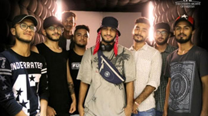 Using technology to connect hip hop artists from Pakistan and US