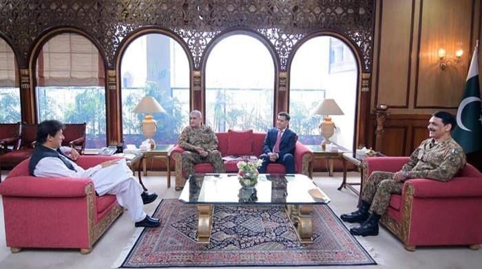 PM Imran, COAS discuss security matters