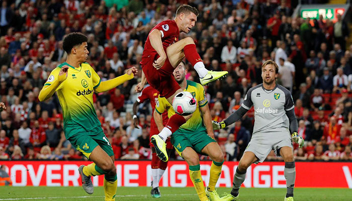 Liverpool Break Club Record With Big Opening Day Victory Over Norwich