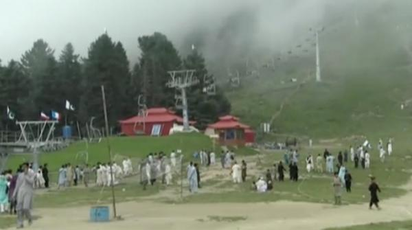 Tourists flock to Swat on Eid-ul-Azha