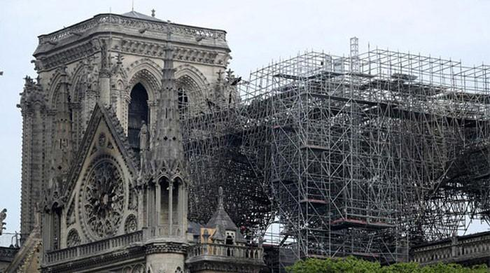 Notre-Dame cathedral ´still at risk of collapse´ after fire