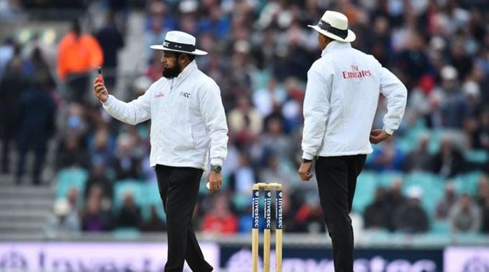 Aleem Dar equals Steve Bucknor's record for umpiring most Test matches
