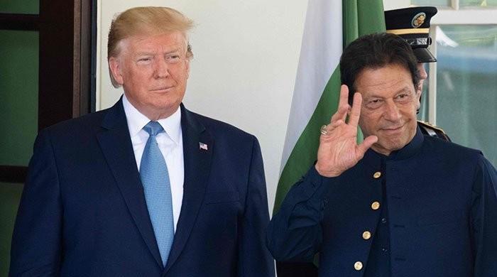PM Imran, Trump discuss Indian atrocities in occupied Kashmir