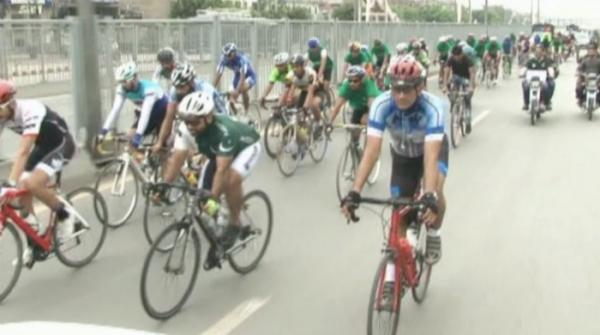 Jashan-e-Azadi Cycle Race