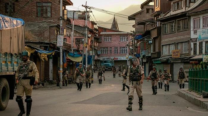 Lockdown continues in occupied Kashmir for 14th consecutive day