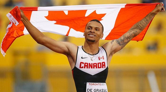 Canadian De Grasse seeks to lay down marker