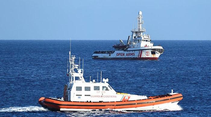 Six EU states to take in 150 migrants from rescue ship blocked by Italy