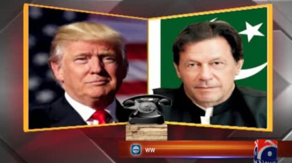 Trump urges Pakistan-India talks on Kashmir in call with PM Imran