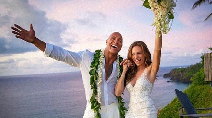 Dwayne 'The Rock' Johnson marries longtime partner Lauren Hashian in Hawaii