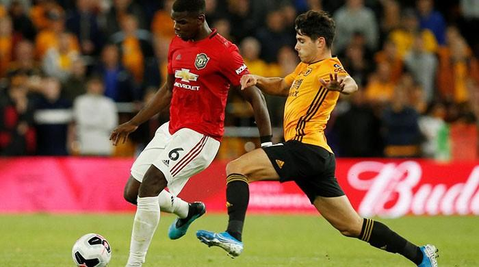 United held at Wolves after Neves strike, Pogba penalty miss