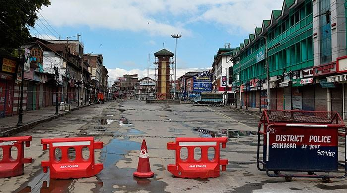 Curfew, communication blockade enters 16th day in occupied Kashmir
