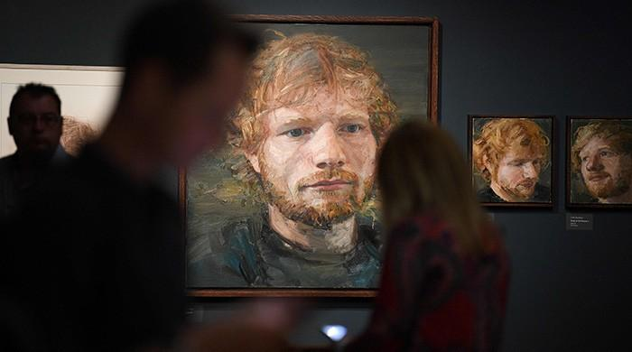 English town celebrates local hero Ed Sheeran