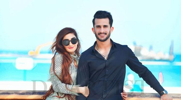 Hasan Ali's pre-wedding shoot in Dubai