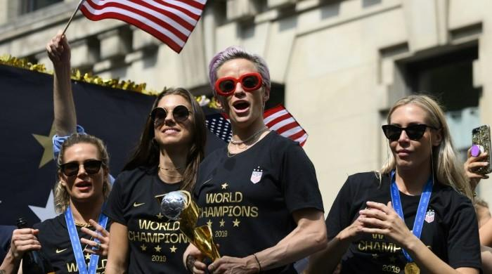US women footballers' equal pay lawsuit to go to trial in 2020