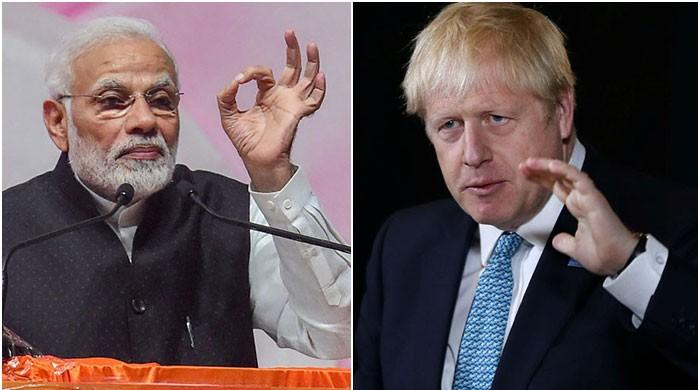 British PM Johnson says India, Pakistan should resolve Kashmir issue bilaterally