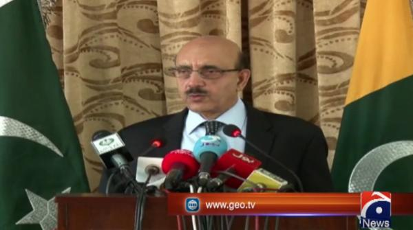 AJK president says India has unleashed genocide in occupied Kashmir