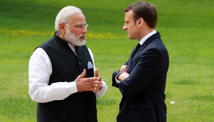 Macron to discuss Indian occupied Kashmir with Modi