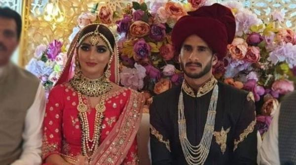 Cricketer Hassan Ali marries Samia Arzoo