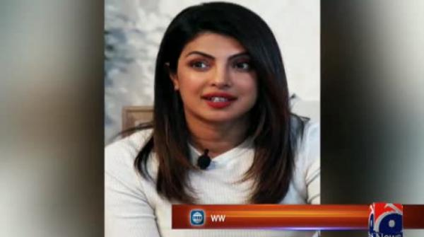 Shireen Mazari writes to UNICEF to remove Priyanka Chopra as peace ambassador