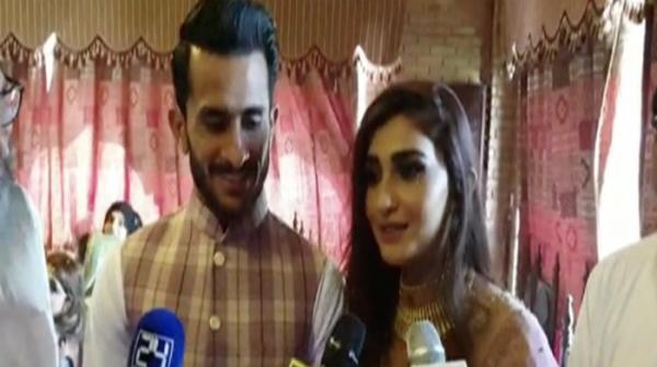 Hassan Ali's wife says she will watch cricket now because of husband