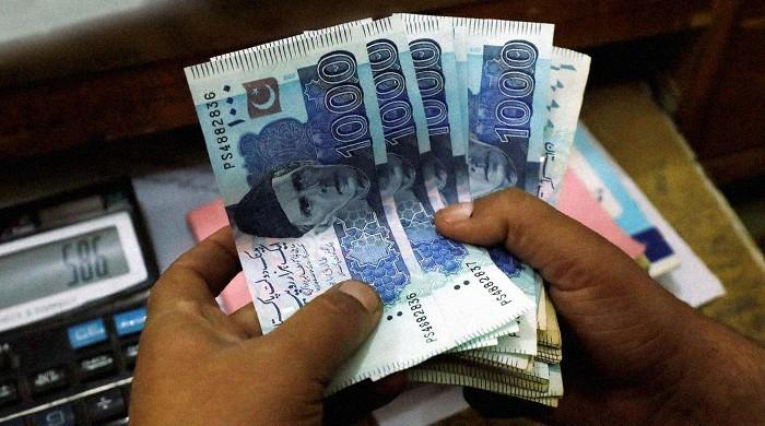 Pakistani rupee records slight gain against dollar