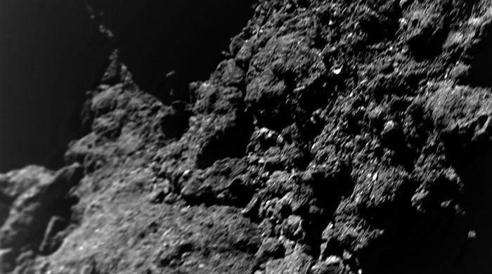 New images from asteroid probe yield clues on planet formation