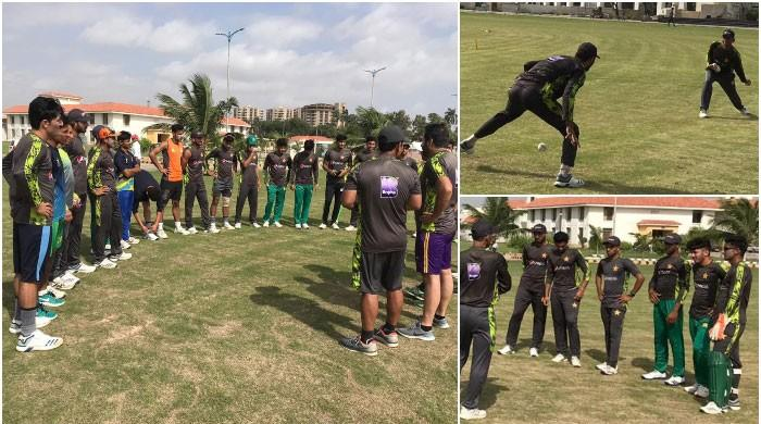 Pakistani cricketers kick off preparation for U19 Asia Cup