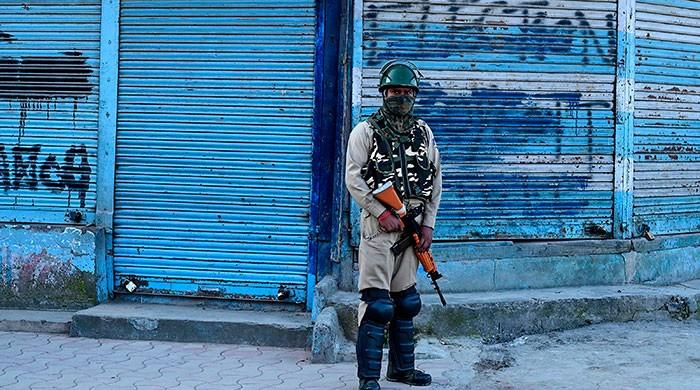 Lockdown continues for 20th day in Indian occupied Kashmir