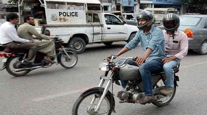 Sindh government announces ban on pillion riding during Ashura