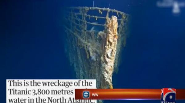 Researchers find Titanic wreck in rapid decay