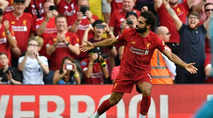 Salah shines as Liverpool sink Arsenal, Rashford penalty woe in Man Utd shocker