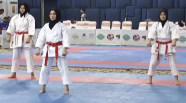 Absence of government support for aspiring karate stars