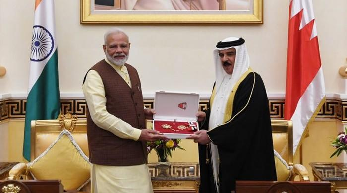 Bahrain King, after UAE honour, confers 'Order of the Renaissance' on India's Modi