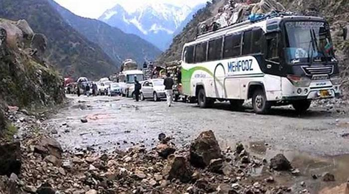 24 dead as passenger bus falls into river in Kohistan