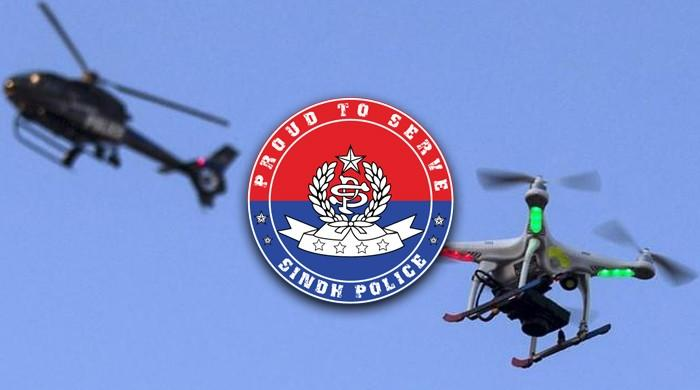 In a first, Sindh Police use drones for Ashura procession security in Karachi