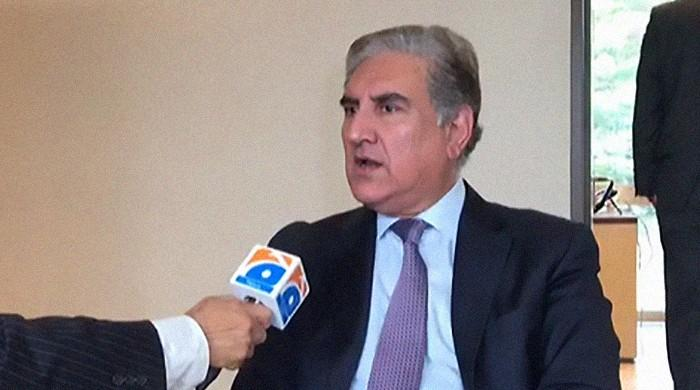 FM Qureshi says global perception of Kashmir changing as truths presented in UNHRC