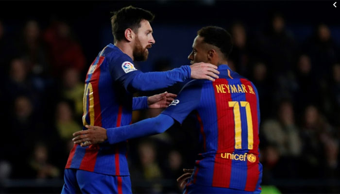 I want Neymar to rejoin Barcelona, confirms Messi