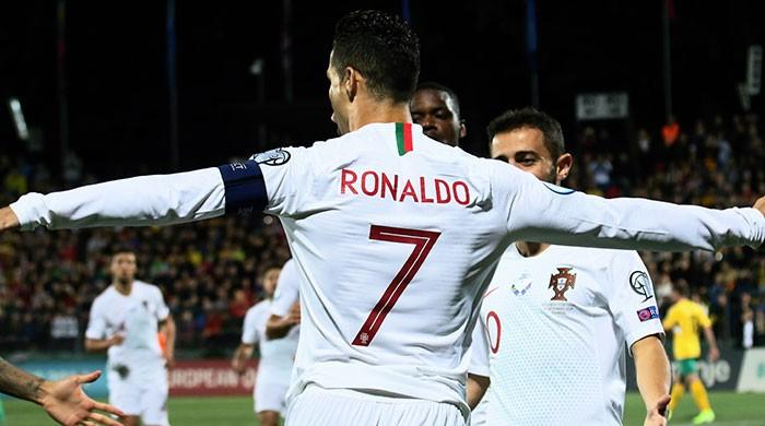 Ronaldo becomes first player to score against 40 different countries