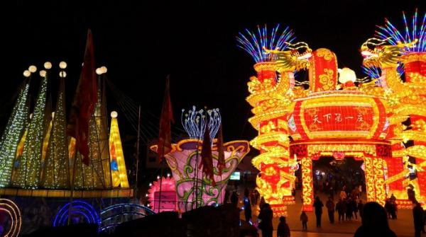 Ancient Chinese town celebrates Mid-Autumn Festival
