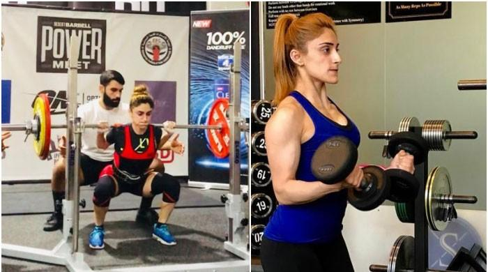 Pakistani footballer-turned-powerlifter Zulfia wins gold medal in Dubai