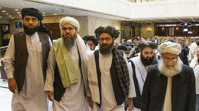 Taliban land in Russia days after US President Trump says talks 'dead'
