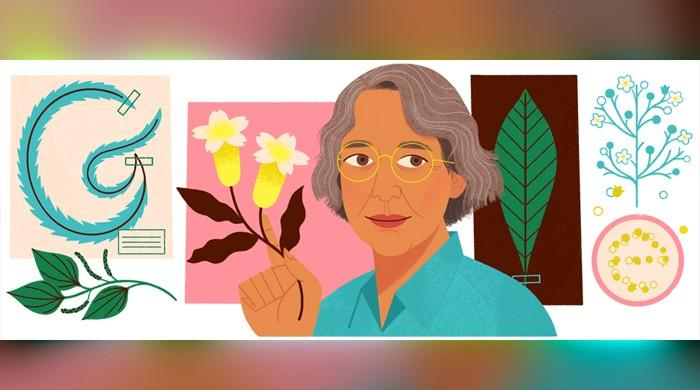 Who is Ynés Mexía from today's Google Doodle?