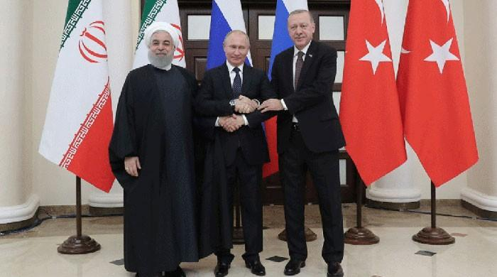 Erdogan hosts Putin, Rouhani for Syria summit
