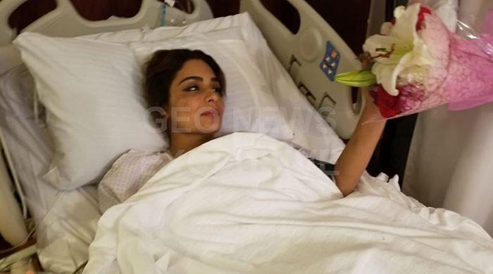 Film star Meera admitted to hospital in Dubai