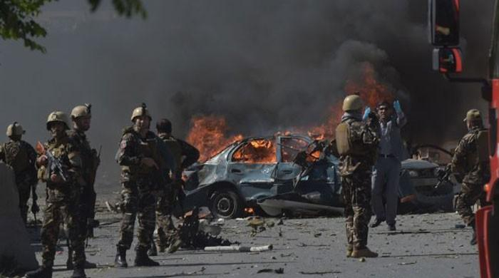 Afghan President Ghani survives blast that kills 48 at campaign rally