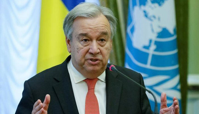 UN Sec General to raise Kashmir issue with world leaders