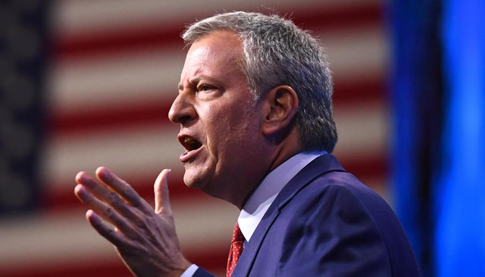 Bill de Blasio pulls the plug on his sputtering presidential bid