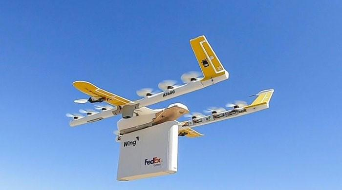 Wing drones to make FedEx, Walgreens deliveries in test
