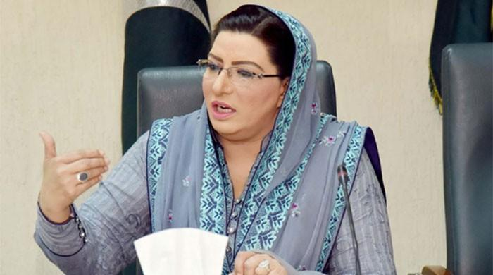 Firdous Ashiq Awan asks Maulana Fazl to march in support of Kashmir